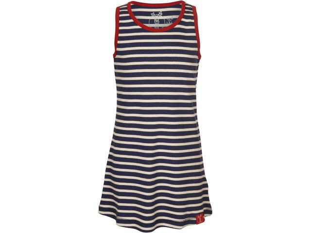 Elkline Sonnig Dress Girls blueshadow-white